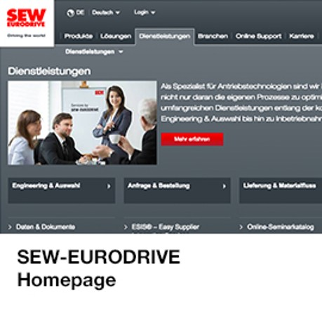 IE Guide / SEW-Homepage