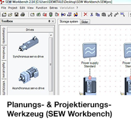 Energiereport / SEW-Workbench