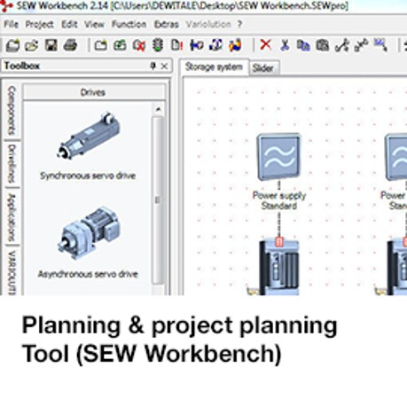Planning & project planning Tool (SEW Workbench)