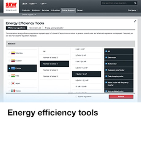 Energy efficiency tools