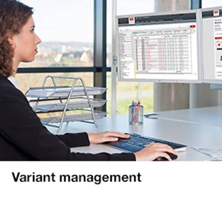 Variant management