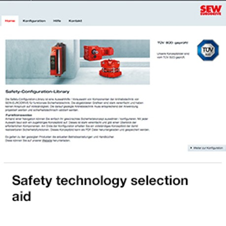 Safety technology selection aid