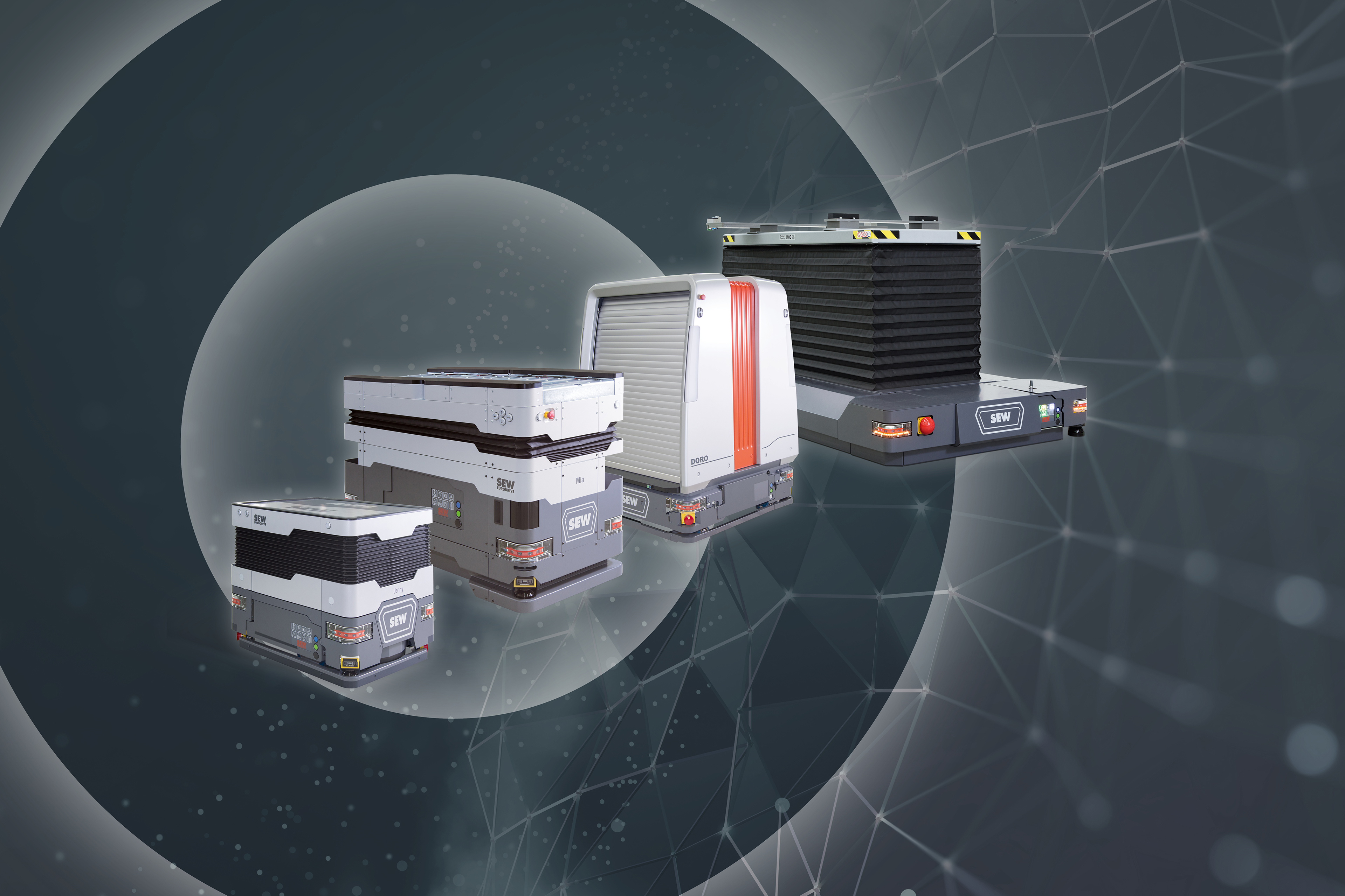 Mobile automated guided assistants